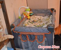 Манеж-кровать Chicco Lullaby