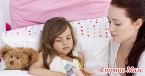 Медикаментозная помощь при лихорадке.