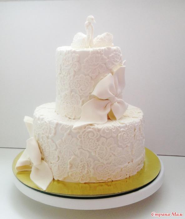 Торты на венчание фото