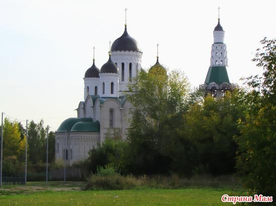Новый храм старообрядцев в Барнауле