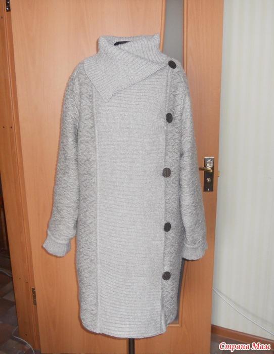 вязаное пальто на вязальной машине фото эротика самое