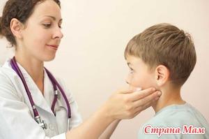 Лечение шейного лимфаденита у детей.