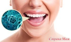 Проявления герпесной инфекции в полости рта
