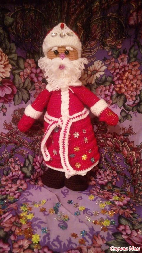 Очееееень добрый Дедушка Мороз!!! Загадывайте желание)