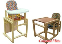 """Новый детский стульчик для кормления """"Антошка""""(трансформер)"""