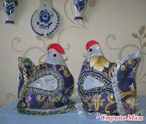 Кто хочет курочек на чайник к праздникам? Подготовительный этап.