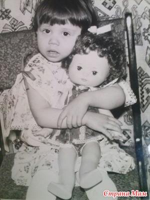 Помогите найти куклу детства.