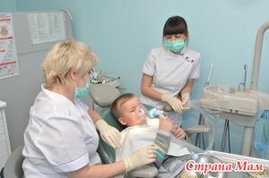 Лечение зубов детям под наркозом.