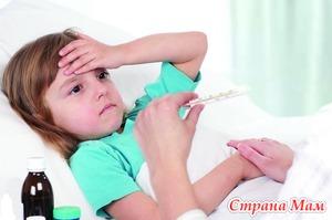Причины простуд у детей.