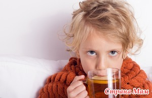 Лечение детских простуд.