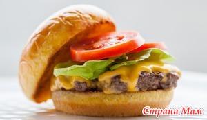 Чизбургер как элемент здорового питания