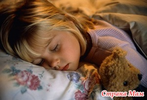 Сон малышей - основы и нормы.