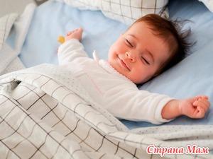 Изменения сна младенца - с чем они связаны?