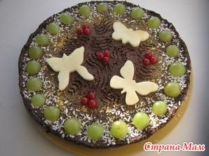Шоколадный торт «Поляна»