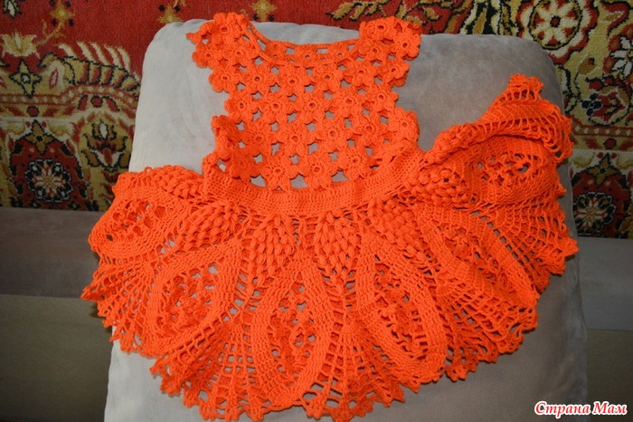 апельсиновое лето вязание для детей страна мам