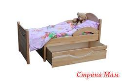 Детская раздвижная кровать Ростушка 2