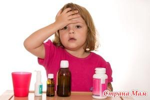 Самые частые болезни детей до 3 лет: Скарлатина и краснуха.