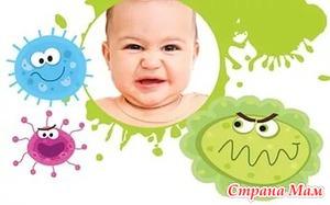 Самые частые болезни детей до 3 лет: острые отиты и кишечные инфекции.