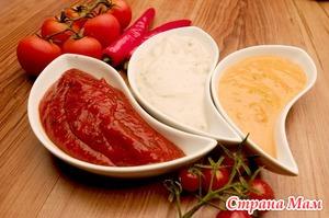Соусы для детей: кетчуп и сметана в питании малышей