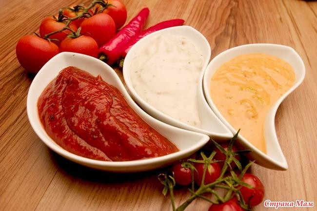Рецепт кетчупа для ребенка