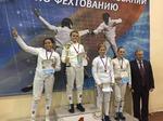 Юные шпажистки московского «Динамо» – серебряные призерки Всероссийских соревнований