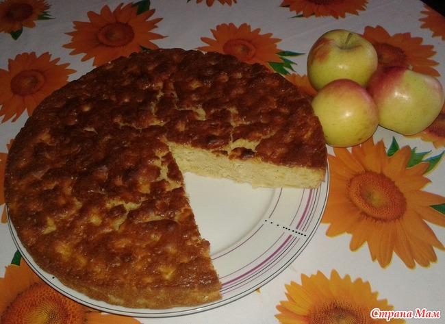 Приготовление шарлотки с яблоками рецепт
