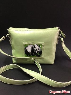 Мастер-класс сумка «Панда»