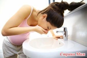 Почему возникает токсикоз беременных