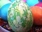 крашеные яйца - символ праздника Пасхи