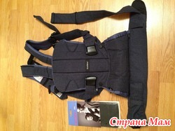 BabyBjorn ONE рюкзак-кенгуру + нагрудник (новые)