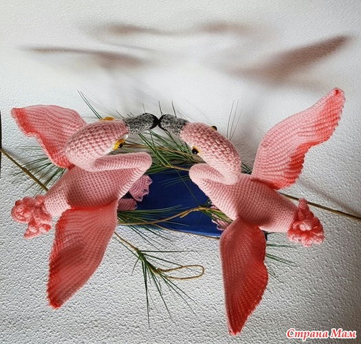 Розовые фламинго от Swetatim1983