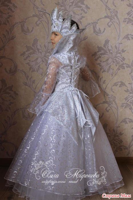 Сшила костюм Снежной Королевы, заходите на просмотр ... - photo#5