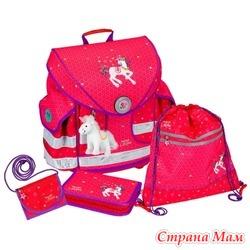 Школьный ранец Prinzessin Lillifee Ergo Style plus с наполнением