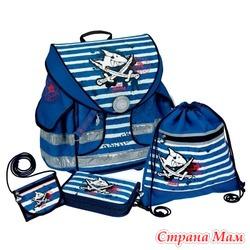 Школьный ранец Capt'n Sharky Ergo Style plus с наполнением