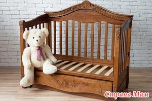 Выбор кроватки для крохи. Виды и модели