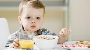 Основы питания детей после года