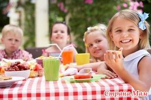 Самые полезные и вкусные угощения для детской вечеринки