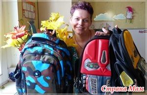 Школьные рюкзаки с Алиэкспресс / мой видеоотзыв+