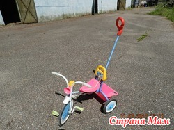 Велосипед и электромобили детские