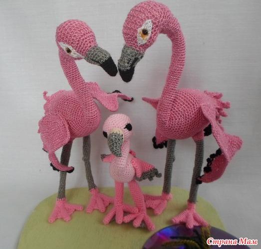 Семья фламинго от Таиса1810