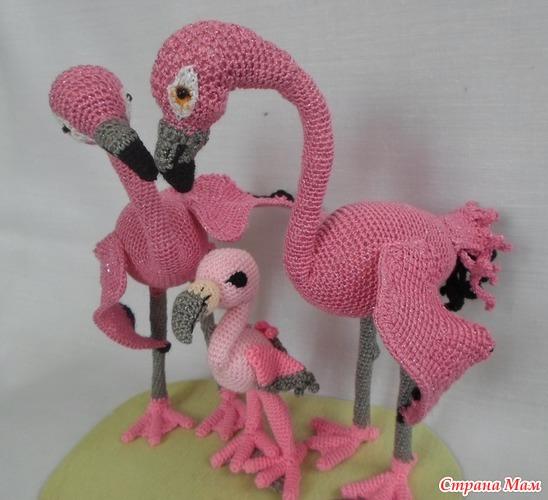 Семья фламинго от Таиса 1810