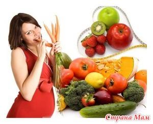 Особенности построения рациона беременных