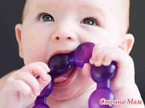 Прорезывание молочных и постоянных зубов