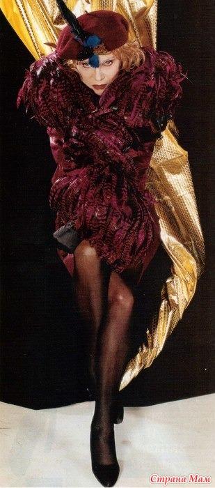 """Фото: Мария Касси. Журнал """"Стас"""", №3 1996. Интервью Людмилы Гурченко """"Автопортрет без белого воротничка"""""""