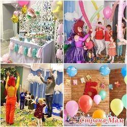 Помещение для проведения детских праздников. Центр Мир впечатлений.