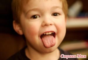 О чем расскажет язык ребенка?