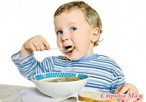 Питание детей в возрасте 2-3 лет