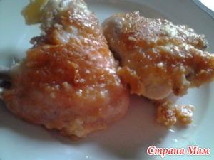 Куриные крилышки в сырно-кунжутной панировке (мой авторский рецепт)
