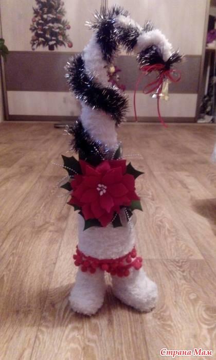 Новогодняя елочка - Поделки к Новому году и Рождеству ...