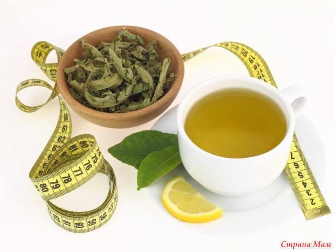 Как худеют от зеленого чая